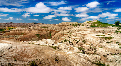Badlands from Conata