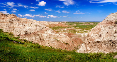 Badlands Valley View