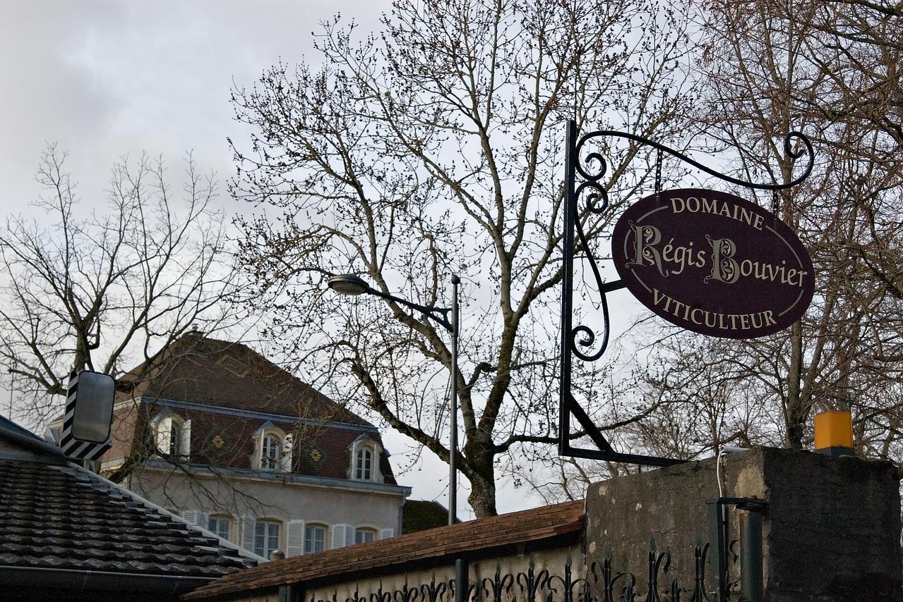 Regis Bouvier in Marsannay, Burgundy.