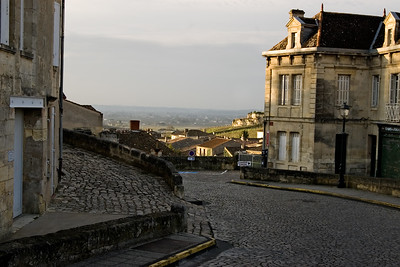 Early morning St.Emilion, Bordeaux, France.