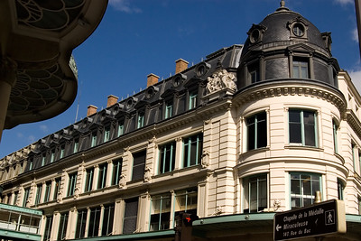 Very Typical Architectural Style in Paris, France.