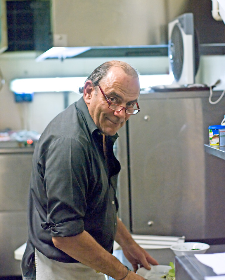 Our good Samaritan, and chef/host in Florence, Italy.