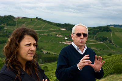 Maurilio Palladino of Palladino winery in the Piedmont.