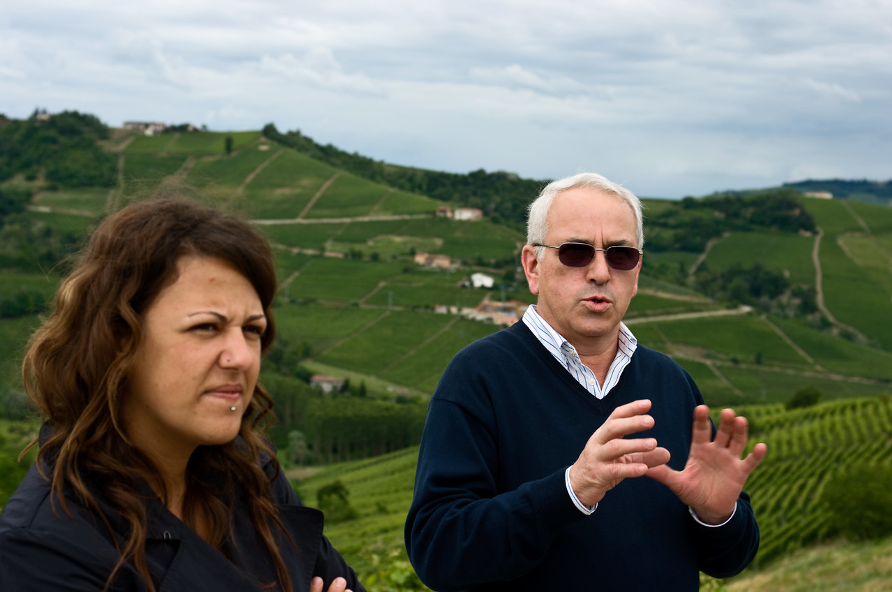 Maurilio Palladino of Palladino winery in the Piedmont.