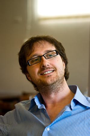 Stephano Gagliardo, proprietor of the Gagliardo winery in Piedmont, Italy.