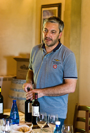 Luca Tommassini, owner of Sangervasio.