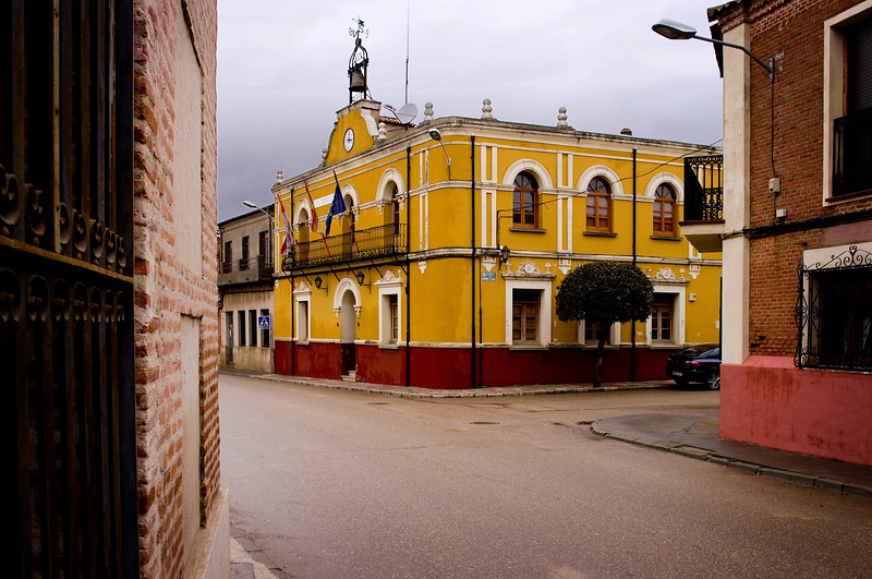 Matapozuelos in Rueda, home to Garciarevalo.<br /> Pentax K20D with DA 21mm lens)