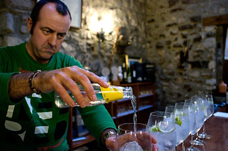 The making of Gin & Tonics