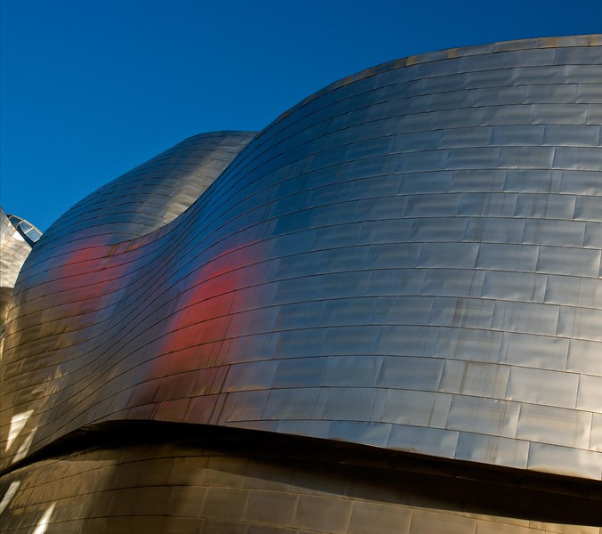 Guggenheim in Bilbao, Spain.