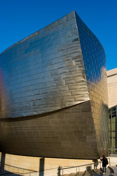 Guggenheim Museum in Bilbao, Spain. <br /> (Pentex K20D with DA 21mm lens.)