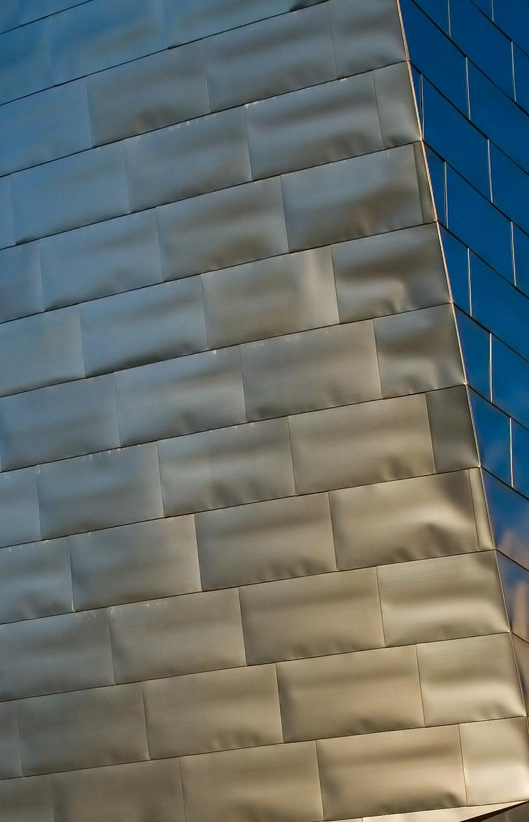 Detail Guggenheim Museum in Bilbao, Spain
