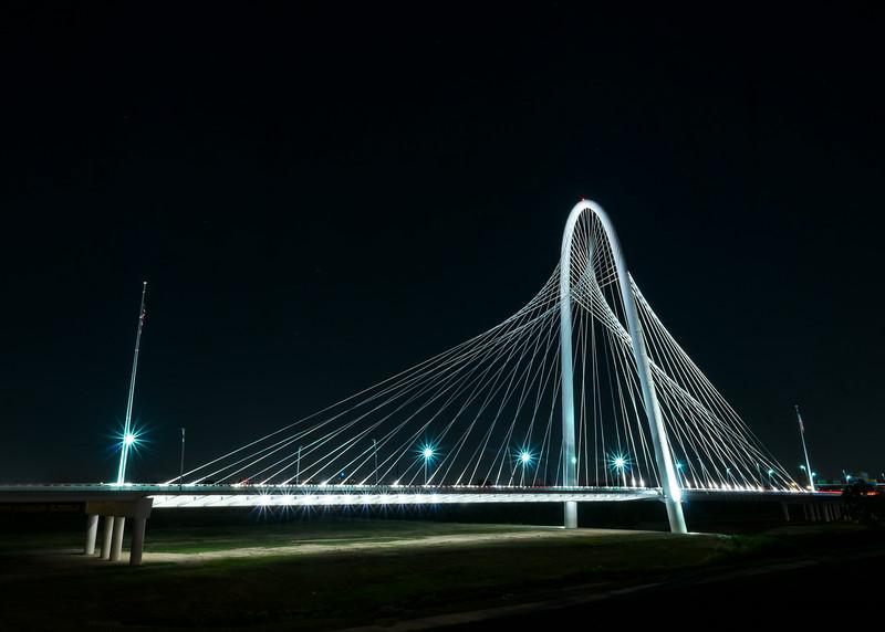 Dallas Texas: Bridge To No Where: Margaret Hunt Hill Bridge
