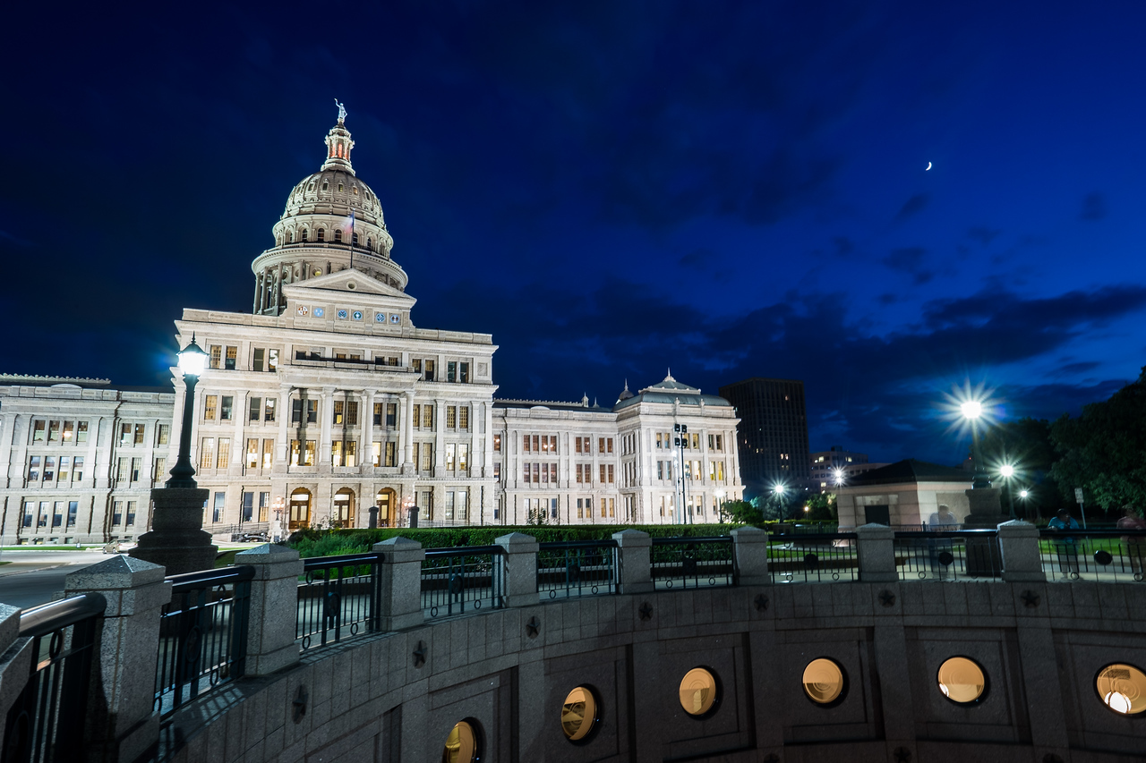 Texas State Capitol: After Hours II