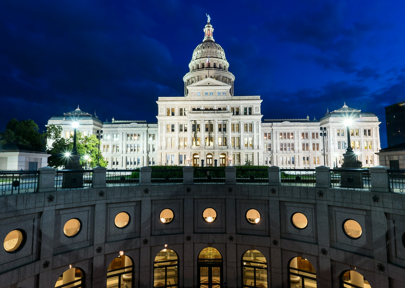 Texas State Capitol After Hours I