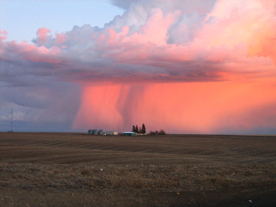 March Storm approaching in Eastern Washington