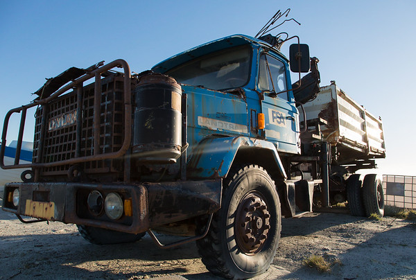 Old lorry, Stanley Harbour, Falkland Islands