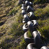 Old anchor chain, Stanley Harbour, Falkland Islands