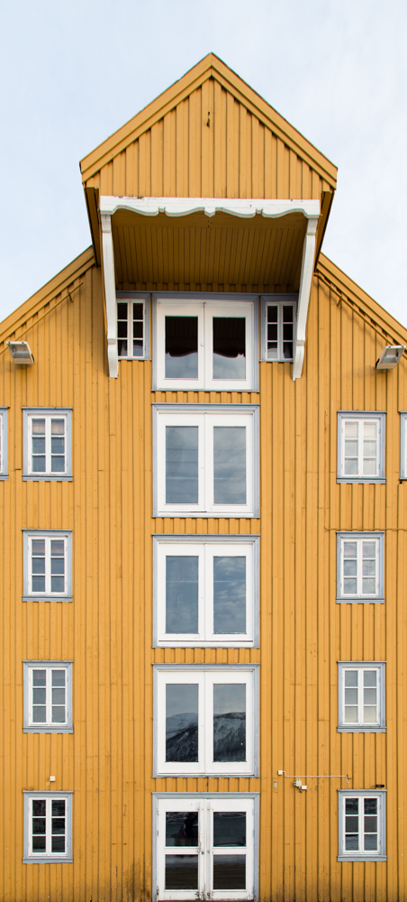 Harbour warehouse, Tromso
