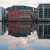 Hotel reflections, Bergen Harbour