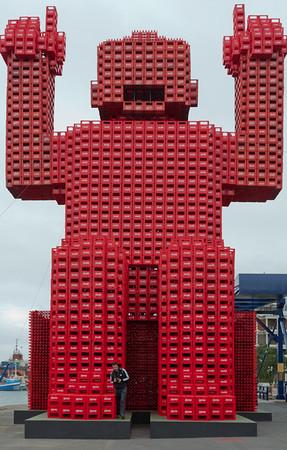 Coca-Cola man