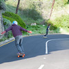 Skate Boarders on Chapman's Drive