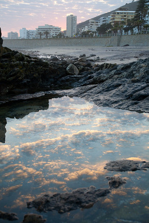 Rock pools at dawn - 2.