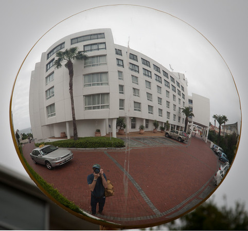Self-portrait at Sea Point