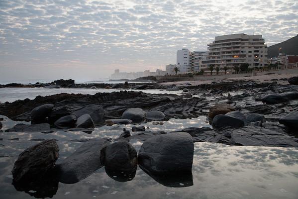 Rock pools at dawn - 1.