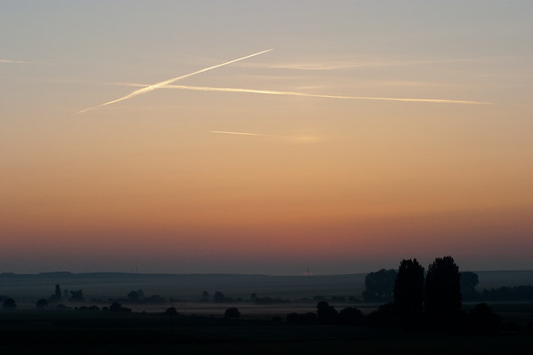 Dawn over France