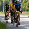 Cyclists on D1091