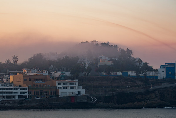 Misty morning in Mazatlan