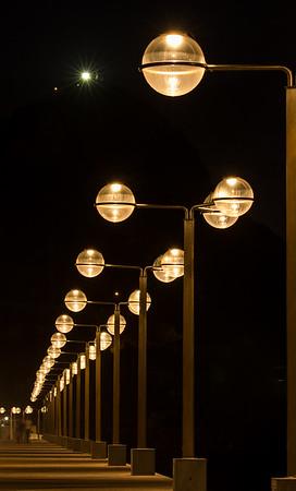 Mazatlan at night