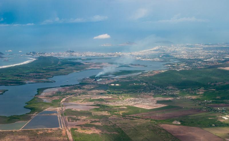 Aerial view of Mazatlan