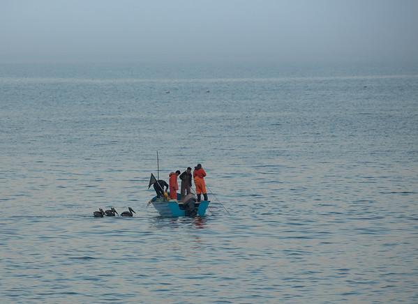 Dawn fishers watch off Mazatlan