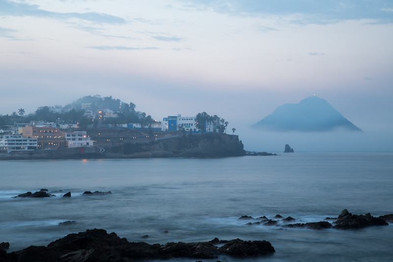Misty morning in Mexico