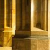 Detail of columns in St. Vitus Cathedral, Prague