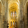 Interior of St. Vitus Cathedral, Prague