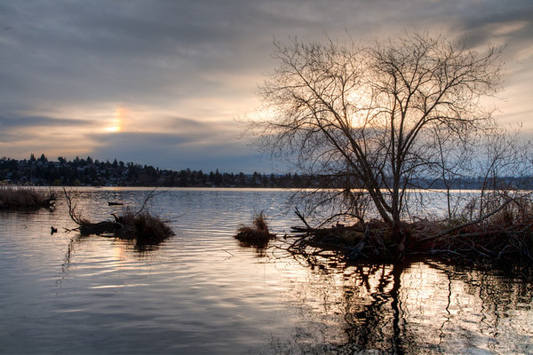 Sunrise over Lake Washington - 1