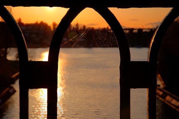 Sunset from Montlake Bridge