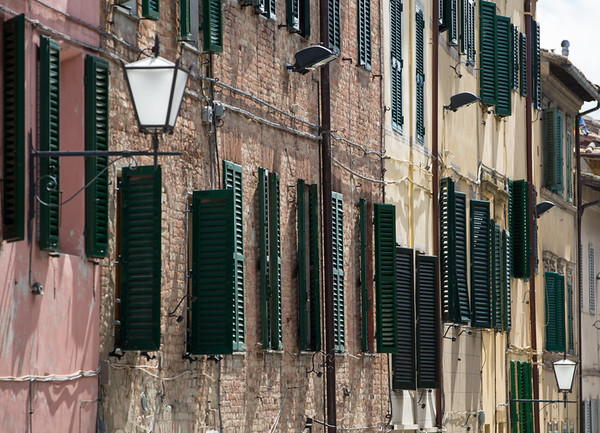 Shutters and lights