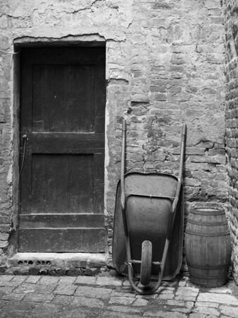 A wheelbarrow moment