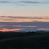 Post sunset Siena skyline