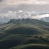 Mist over Le Crete in Tuscany