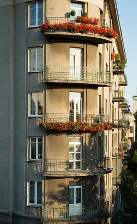 Apartments and pelargoniums - 1 Aleja 3 Maya, Warsaw, Poland