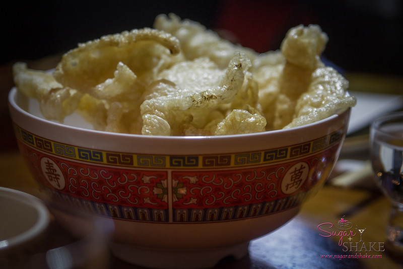 We ate all @Melissa808's chicharrones, so we were really excited about this big bowl at Migrant. © 2014 Sugar + Shake