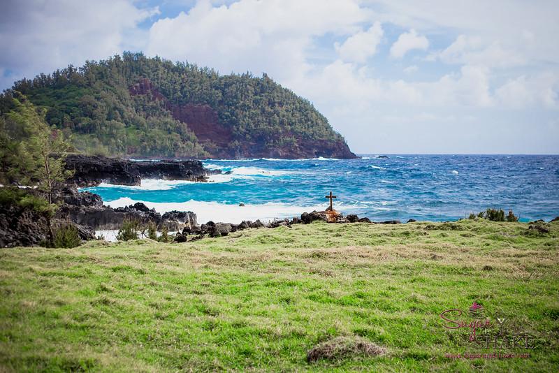 Travaasa Hāna's trail ride takes you down to the coast, through Hāna Ranch lands. © 2015 Sugar + Shake