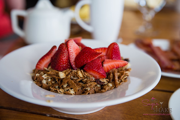 Shake's favorite breakfast granola at Travaasa Hāna. © 2015 Sugar + Shake