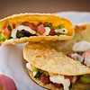 "Poke Tacos from Hula Grill at Progressive Kā'anapali, the first of the <a href=""http://kaanapalifresh.com"">Kā'anapali Fresh Food & Wine Festival</a> events. One of our favorite dishes of the evening. © 2012 Sugar + Shake"
