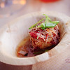 "Deep Fried Tofu & Crab Dumplings from <a href=""http://www.ritzcarlton.com/en/Properties/KapaluaMaui/Dining/KaiSushiBar/Default.htm"">Kai Sushi Bar</a> (Chef de Cuisine Tadashi Yoshino). © 2012 Sugar + Shake"