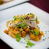 Garlic Roasted Kampachi, Smoked Tuscan Beans, Butter Orecchiette & Proscuitto di Parma from Capische? © 2012 Sugar + Shake